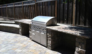 Bay Area Outdoor Kitchen BBQ Island Installation